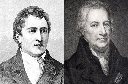 Portraits de Carl Wilhelm Scheele et Claude Louis Berthollet
